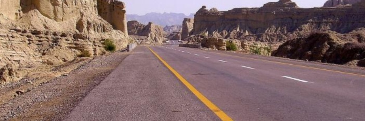 Pakistan Makran Coastal Highway